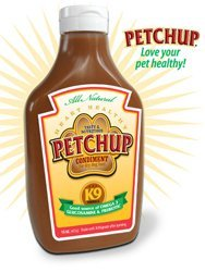 Petchup Dog Food Condiment