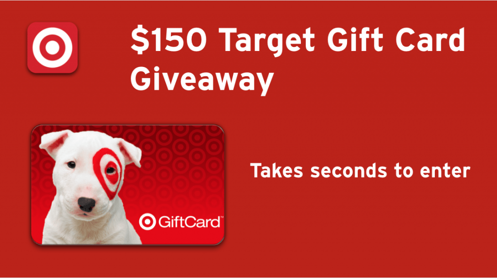 $150 Target Gift Card Giveaway – ends on 7/26/2016