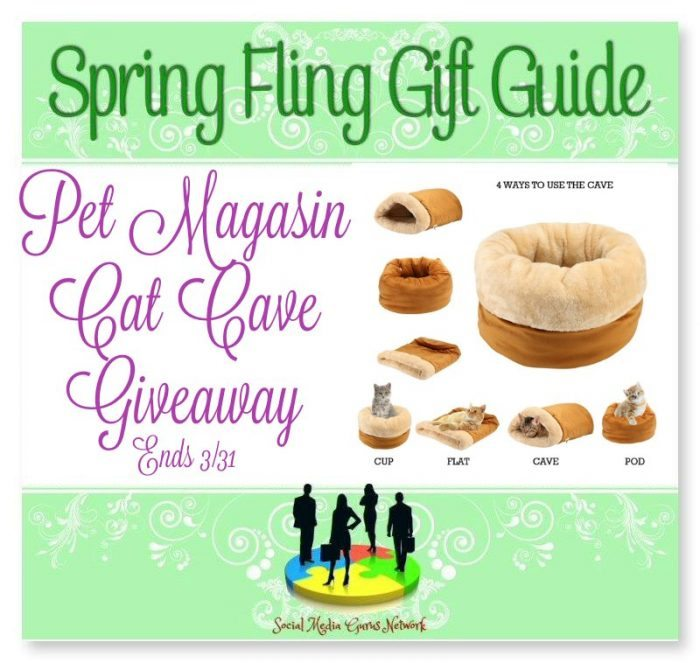 Pet Magasin Cat Cave Giveaway