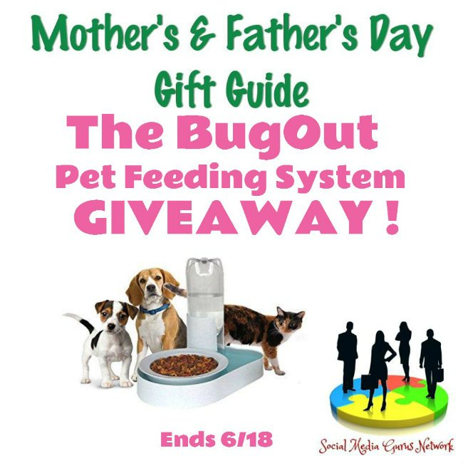 Bugout Pet Bowl Giveaway