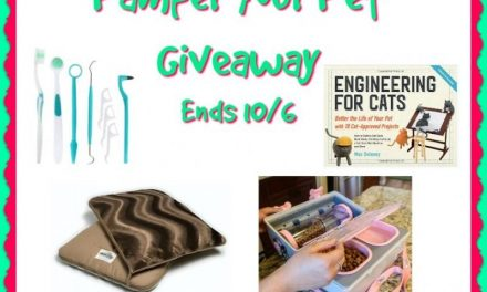 Pamper Your Pet Giveaway