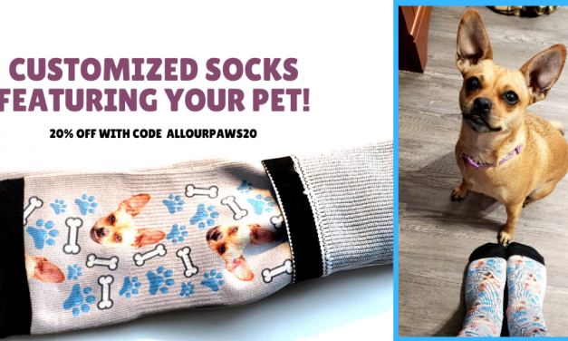Customized Socks with Your Pet's Photo from PrintsField